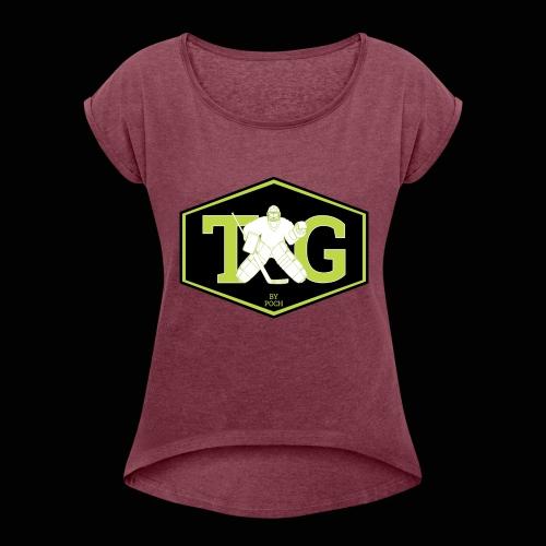 TG by Poch Off - T-shirt à manches retroussées Femme