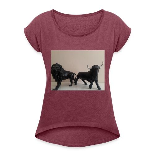 20180826 164541 1 - T-shirt à manches retroussées Femme