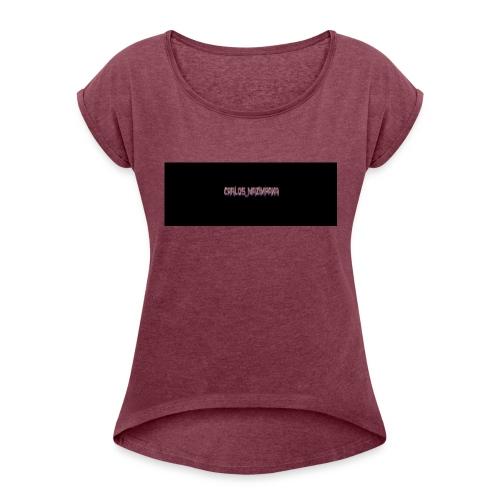 carlos - T-shirt à manches retroussées Femme