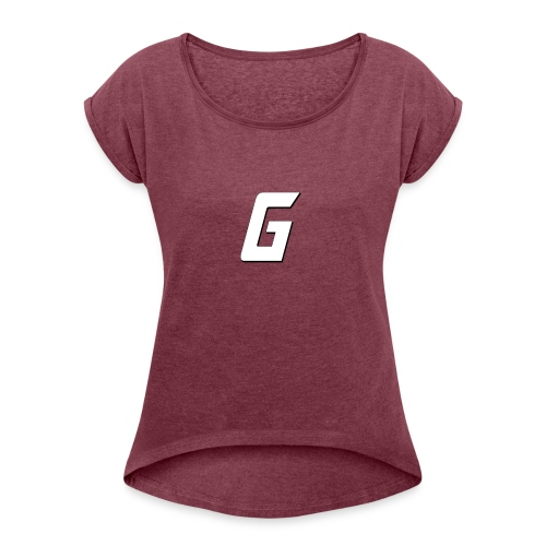 G4 - Women's T-Shirt with rolled up sleeves