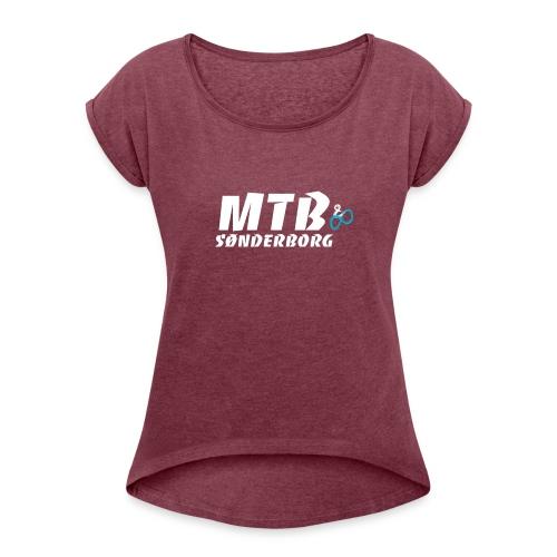 MTB Sønderborg Logo - Dame T-shirt med rulleærmer