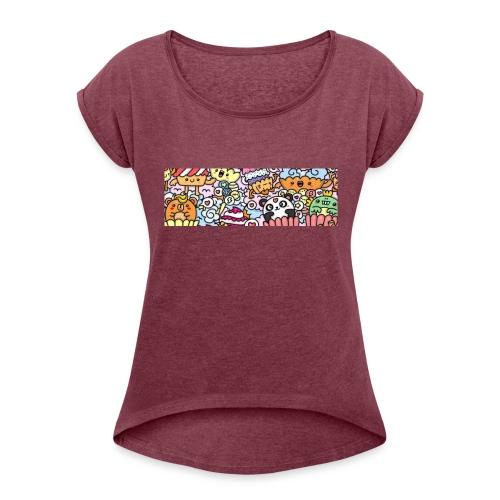 IMG_20160514_222615 - Camiseta con manga enrollada mujer