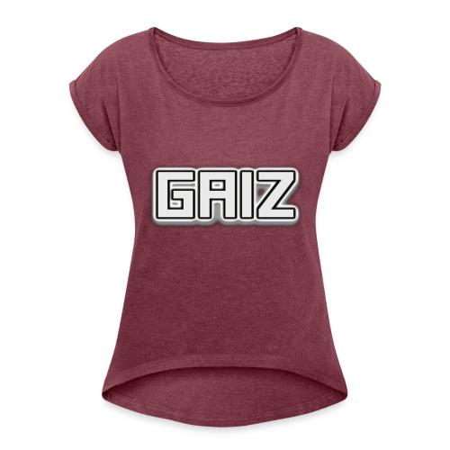 GAIZ-SENZA COLORE MAGLIE - Maglietta da donna con risvolti