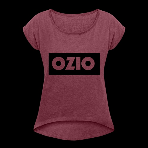 Ozio's Products - Women's T-Shirt with rolled up sleeves