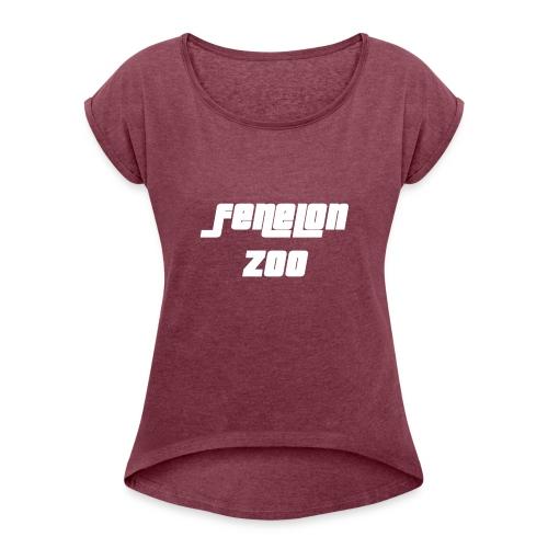 Fenelon Zoo - T-shirt à manches retroussées Femme