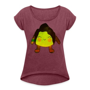 Sister Limon P - Women's T-shirt with rolled up sleeves