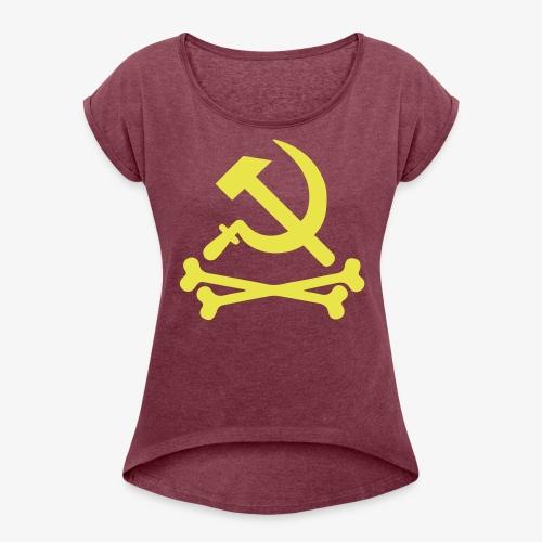 Hammer, Sejl & Knogler - Dame T-shirt med rulleærmer