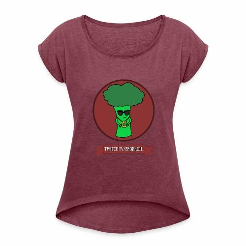 EST. - Shirt - Frauen T-Shirt mit gerollten Ärmeln
