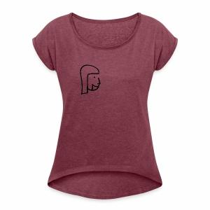 Greda - Frauen T-Shirt mit gerollten Ärmeln