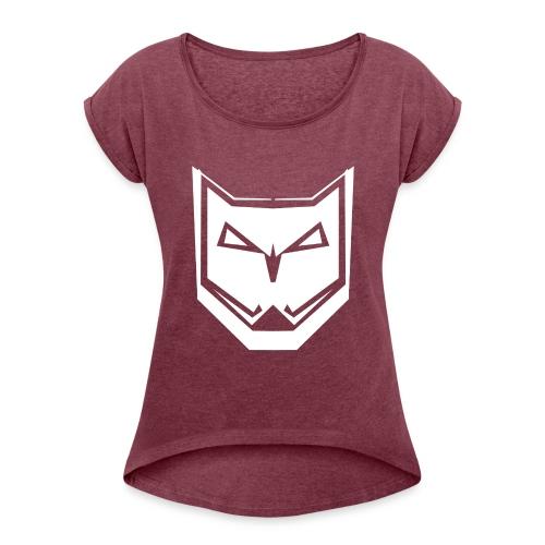 DIISE - T-shirt à manches retroussées Femme