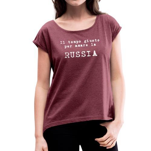 tempo per amare - Maglietta da donna con risvolti