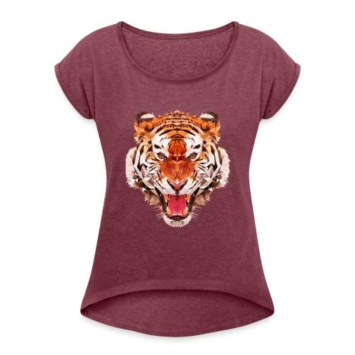 tiger low - T-shirt à manches retroussées Femme