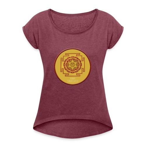 lord vishnu ynatra - T-shirt à manches retroussées Femme