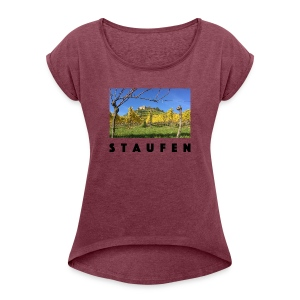 Staufen - Women's T-shirt with rolled up sleeves
