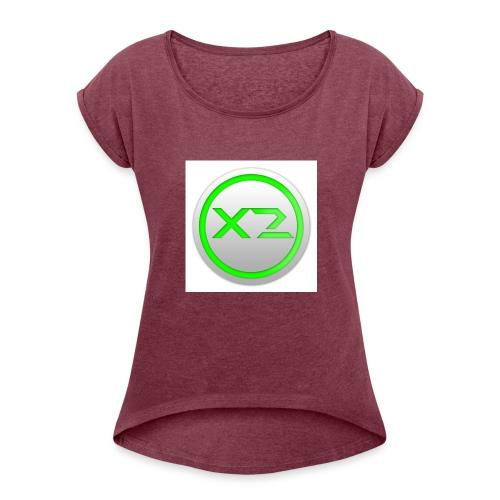 logo ufficiale - Maglietta da donna con risvolti