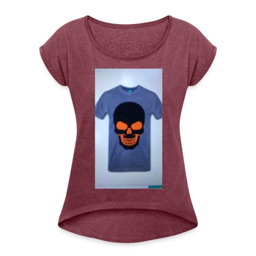 ghost rider - Women's T-Shirt with rolled up sleeves