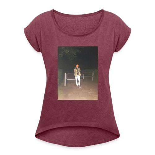 Jay Dane - Dame T-shirt med rulleærmer