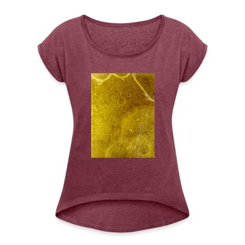 Chemie Bombe - Frauen T-Shirt mit gerollten Ärmeln