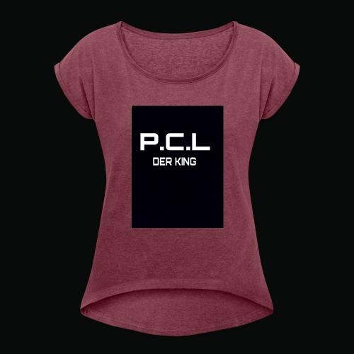 1478856331718 - Frauen T-Shirt mit gerollten Ärmeln