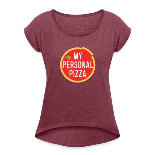 maglietta_alsina_noshadow_textshadow - Maglietta da donna con risvolti