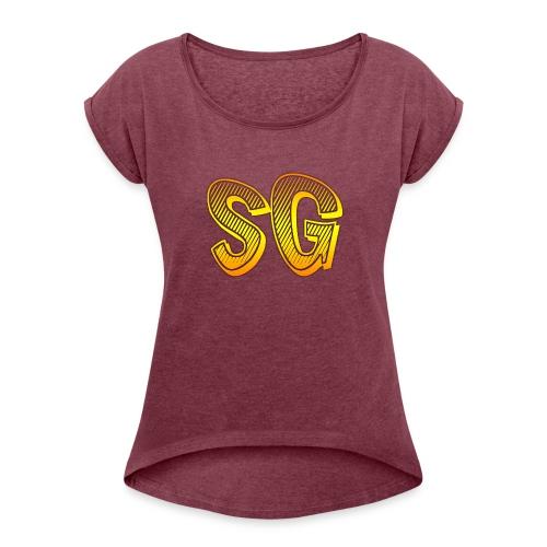 Cover S6 - Maglietta da donna con risvolti