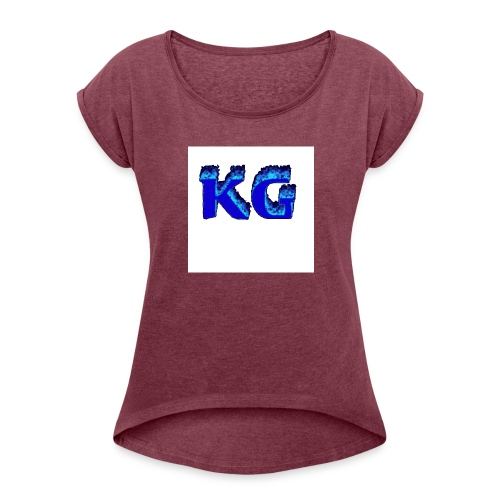 NOG MEER STUFF! - Vrouwen T-shirt met opgerolde mouwen