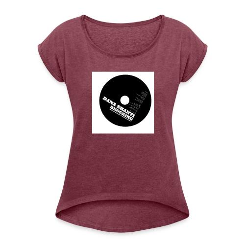 Knocking - Frauen T-Shirt mit gerollten Ärmeln