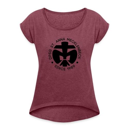 DPSG St Anna Mecklenbeck - Frauen T-Shirt mit gerollten Ärmeln
