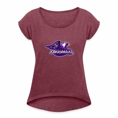 Abnormal Esports - T-shirt med upprullade ärmar dam