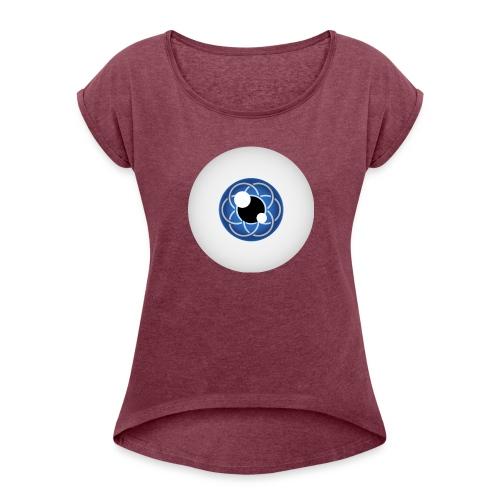 #SaveHumanity - Dame T-shirt med rulleærmer