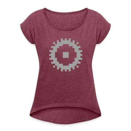 GearMC (solo logo) - Maglietta da donna con risvolti