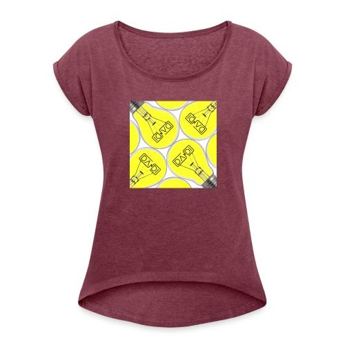 Dandi Idee - Maglietta da donna con risvolti