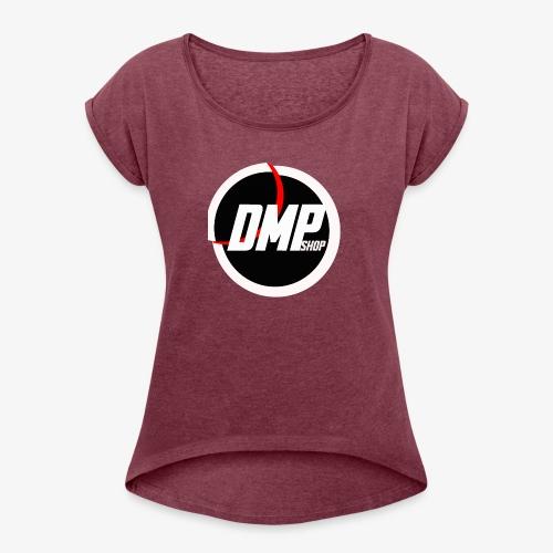 Dmp - Camiseta con manga enrollada mujer