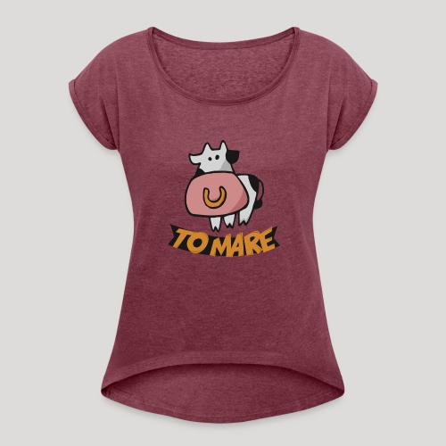 TO MARE - Maglietta da donna con risvolti