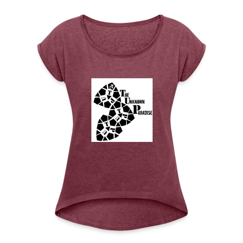 Camiseta Logo Standard The Unknown Paradise - Camiseta con manga enrollada mujer