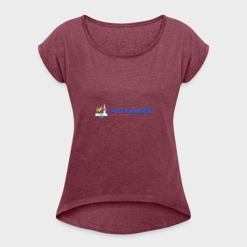 Craftyourliferp 2018 - T-shirt à manches retroussées Femme