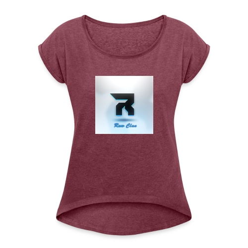 RAWWilson - Women's T-Shirt with rolled up sleeves
