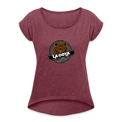 Bøjrn - Dame T-shirt med rulleærmer