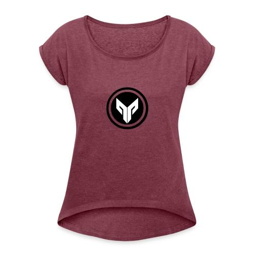 Terrenzo Orginal - Vrouwen T-shirt met opgerolde mouwen