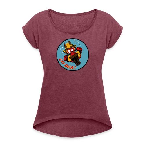 DCA-GREMLIN - T-shirt à manches retroussées Femme