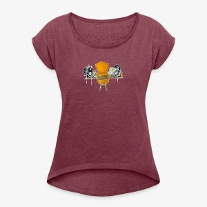 PRODUCER - (At Work) - Women's T-shirt with rolled up sleeves