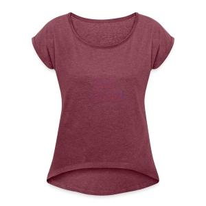 Game on Her - T-shirt à manches retroussées Femme