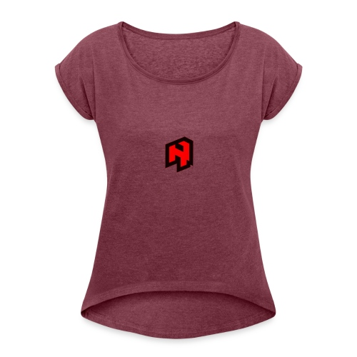 RevelatorHD Custom Gear - Women's T-Shirt with rolled up sleeves