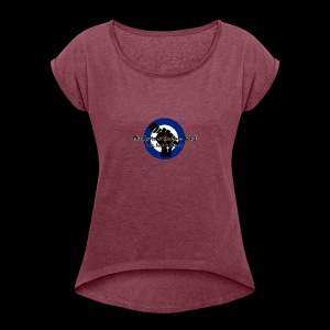 Grits & Grooves Band - Women's T-shirt with rolled up sleeves