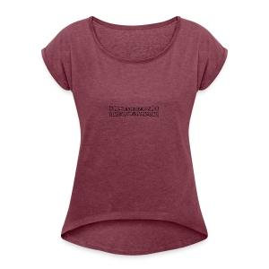 disturbo dissociativo - Maglietta da donna con risvolti
