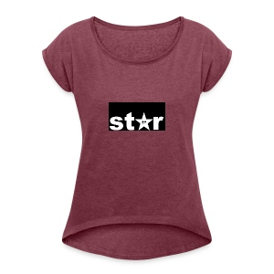 star kigo - Women's T-shirt with rolled up sleeves