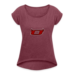 The Inferno O - Women's T-shirt with rolled up sleeves