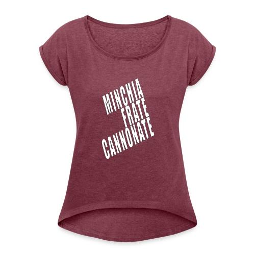 Cannonate - Maglietta da donna con risvolti