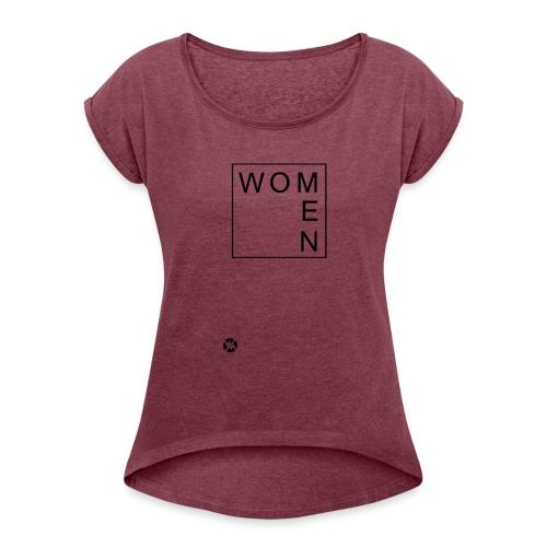 woMen - T-shirt à manches retroussées Femme