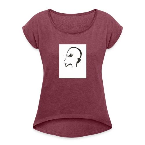 Profil de monstre - T-shirt à manches retroussées Femme